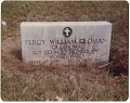 View Chromogenic print of the tombstone of Perry William Cloman digital asset number 0