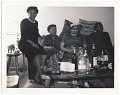 View Photographic print of four women sitting on a couch digital asset number 0
