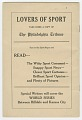 View Souvenir program for 1924 World's Colored Championship digital asset number 11