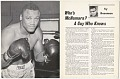 View Program for boxing match between Tony Doyle and Joe Frazier digital asset number 2