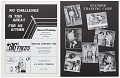 View Program for a boxing match between Ron Stander and Joe Frazier digital asset number 9