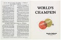 View Program for a boxing match between Ron Stander and Joe Frazier digital asset number 13