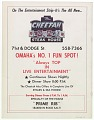 View Program for a boxing match between Ron Stander and Joe Frazier digital asset number 14