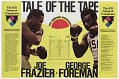 View Program for a boxing match between Joe Frazier and George Foreman digital asset number 9