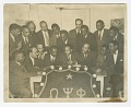 View Photograph of the Tau Omega Chapter of Omega Psi Phi Fraternity digital asset number 0