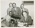 View Photograph of Gilbert DeLorme, Sr. and associates at Atlanta Life Insurance Co. digital asset number 0