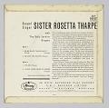 View <I>Gospel Singer Sister Rosetta Tharpe With The Sally Jenkins Singers</I> digital asset number 3