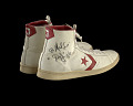 "View Sneakers worn by Julius ""Dr. J"" Erving and inscribed to Doc Stanley digital asset number 1"