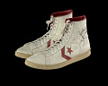 "View Sneakers worn by Julius ""Dr. J"" Erving and inscribed to Doc Stanley digital asset number 3"