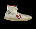 "View Sneakers worn by Julius ""Dr. J"" Erving and inscribed to Doc Stanley digital asset number 11"