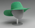 View Green hat worn by Alicia Keys on the album cover of Songs in A Minor digital asset number 3