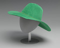 View Green hat worn by Alicia Keys on the album cover of Songs in A Minor digital asset number 4
