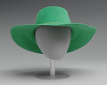View Green hat worn by Alicia Keys on the album cover of Songs in A Minor digital asset number 5