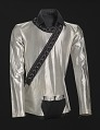 View Silver shirt worn by Michael Jackson during the 1987 Bad World Tour digital asset number 0