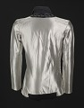 View Silver shirt worn by Michael Jackson during the 1987 Bad World Tour digital asset number 1