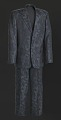 View Black, navy, and teal suit worn by Luther Vandross digital asset number 0