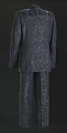 View Black, navy, and teal suit worn by Luther Vandross digital asset number 1