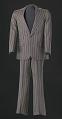 View Brown pin-striped suit worn by Sammy Davis Jr. digital asset number 0