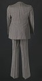 View Brown pin-striped suit worn by Sammy Davis Jr. digital asset number 1