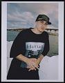 View Photograph of Pitbull on the Venetian Bridge, downtown Miami digital asset number 0
