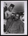 View Photograph of Big Daddy Kane getting a shape up digital asset number 0