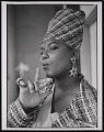 """View Photograph of Queen Latifah during the filming of """"Fly Girl"""" video digital asset number 2"""