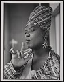 """View Photograph of Queen Latifah during the filming of """"Fly Girl"""" video digital asset number 6"""