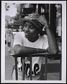 View Photograph of MC Lyte on Manhattan's Lower East Side digital asset number 0