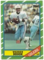 View Football trading card for Warren Moon digital asset number 0