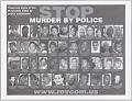 View Posters with STOP MURDER BY POLICE message digital asset number 2