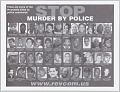 View Posters with STOP MURDER BY POLICE message digital asset number 0