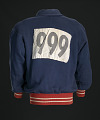 View Warm-up sweat suit for the 1952 Helsinki XV Olympics worn by Ted Corbitt digital asset number 3
