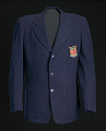 View Blazer, tie, and belt worn by Ted Corbitt for the 1952 Helsinki XV Olympics digital asset number 0