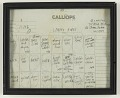 """View Track sheet used during the recording of """"Ladies First"""" by Queen Latifah digital asset number 1"""