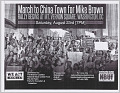 View Fliers for a march in memory of Mike Brown in Washington, DC digital asset number 0