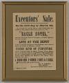 View Broadside for the estate sale of Robert Skeen including ten enslaved people digital asset number 0