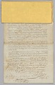 View Deed of sale for an enslaved man named Pierre digital asset number 2