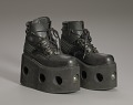 View Black platform ankle boots worn by Bootsy Collins digital asset number 7
