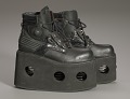 View Black platform ankle boots worn by Bootsy Collins digital asset number 8