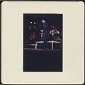 View Color slide of Harry Belafonte performing at a fundraiser at Boston Garden digital asset number 1