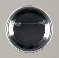 """View Pinback button stating """"Justice Or Else 10-10-2015"""", from MMM 20th Anniversary digital asset number 1"""