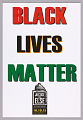 """View Posters stating """"Black Lives Matter"""" used at Million Man March 20th Anniversary digital asset number 2"""