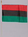 View Pan African flags used at the Million Man March 20th Anniversary digital asset number 0
