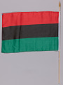 View Pan African flags used at the Million Man March 20th Anniversary digital asset number 1