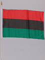 View Pan African flags used at the Million Man March 20th Anniversary digital asset number 2