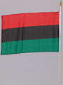 View Pan African flags used at the Million Man March 20th Anniversary digital asset number 3