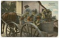 View Postcard of a banana and pineapple vendor digital asset number 0