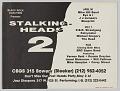 View Poster for Stalking Heads 2 concert digital asset number 0