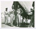 View Photograph of Joe Louis and Commander Benjamin O. Davis, Jr., Ramitelli airfield digital asset number 0