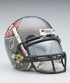 View Tampa Bay Buccaneers helmet worn by Warrick Dunn digital asset number 2